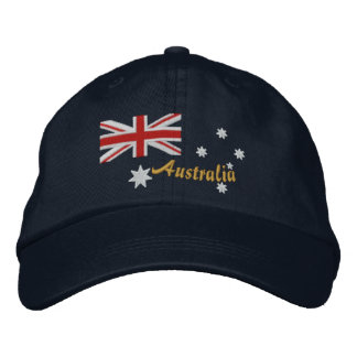 Classic Australian Flag Embroidery Baseball Cap