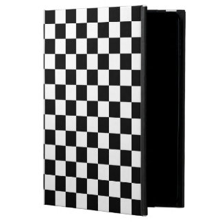 Classic Auto Racing Plaid Chequered Checkered Flag Powis iPad Air 2 Case