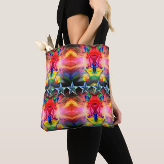 Classic bag - modern happy colourful abstract