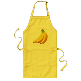 CLASSIC BANANAS DESIGN Long Apron