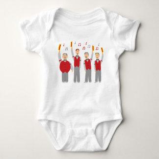 Classic Barbershop Quartet Baby Bodysuit