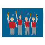 Classic Barbershop Quartet Greeting Card