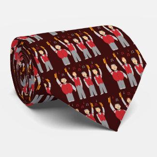 Classic Barbershop Quartet Tie