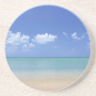 classic beach day drink coaster