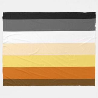 Classic Bear Pride Flag Fleece Blanket