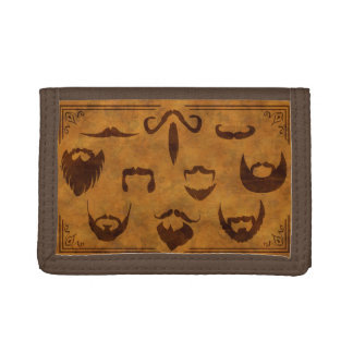 Classic Beards and Mustaches - Wallet