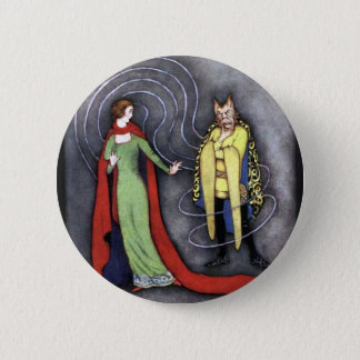 Classic Beauty and the Beast 6 Cm Round Badge
