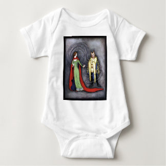 Classic Beauty and the Beast Baby Bodysuit