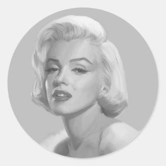 Classic Beauty Classic Round Sticker