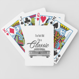 classic bicycle playing cards