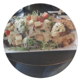 Classic Big Caesar Salad in Paris, France Plate