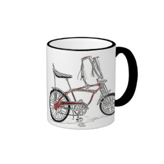 Classic Bike 60's Bicycle Art Mug