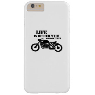 Classic Biker  Life is Better with Motorcycle Barely There iPhone 6 Plus Case