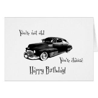 Classic Birthday Card