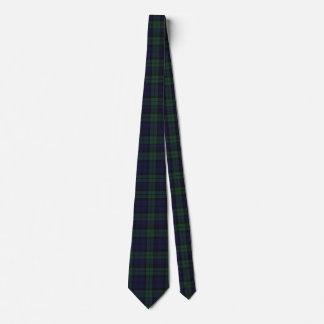 Classic Black Watch Tartan Plaid Tie