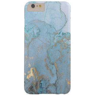 Classic Blue and Gold Marble Design Phone Case
