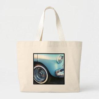 Classic Blue Car Canvas Bags