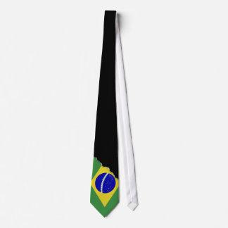 Classic Brazilian Flag Tie