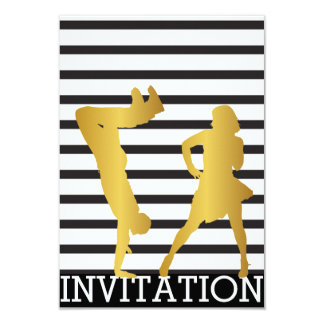 Classic Break Dance Dico Hip Hop Vip Invitation