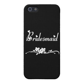 Classic Bridesmaid iPhone 5/5S Case