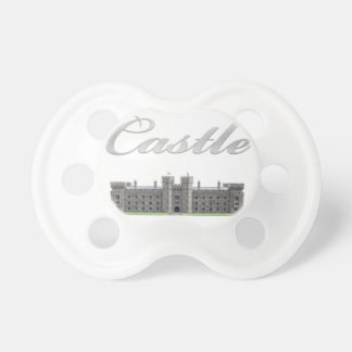 Classic British Castle with Castle Text Dummy