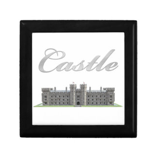 Classic British Castle with Castle Text Gift Box