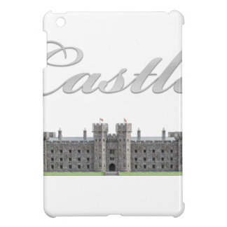 Classic British Castle with Castle Text iPad Mini Covers
