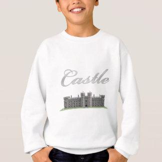 Classic British Castle with Castle Text Sweatshirt