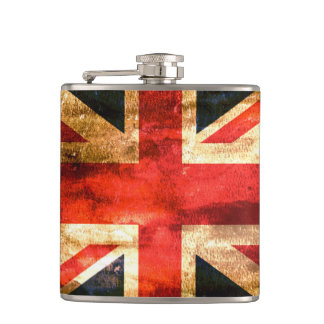Classic British flag Hip Flask