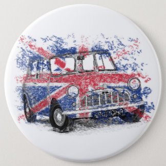 Classic British Mini 6 Cm Round Badge