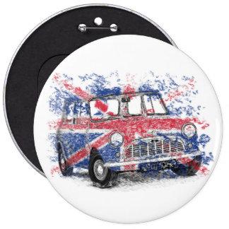 Classic British Mini 6 Cm Round Badge