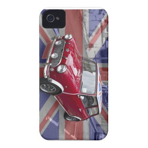 Classic British Mini Blackberry Bold Case