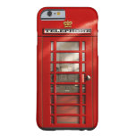 Classic British Red Telephone Box Custom Cases Barely There iPhone 6 Case