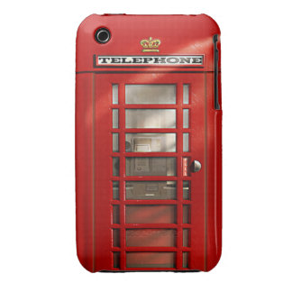 Classic British Red Telephone Box iPhone 3 Cases