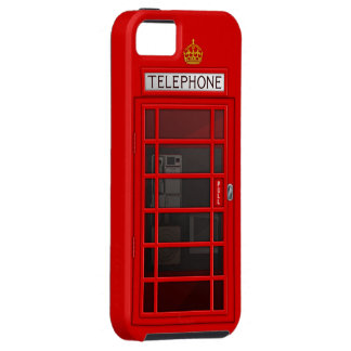 Classic British Red Telephone Box iPhone 5 Case