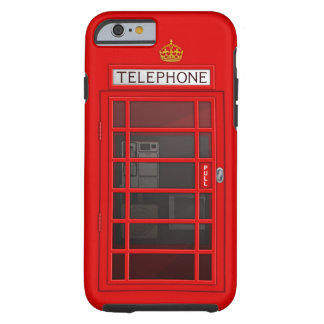 Classic British Red Telephone Box iPhone 6 case