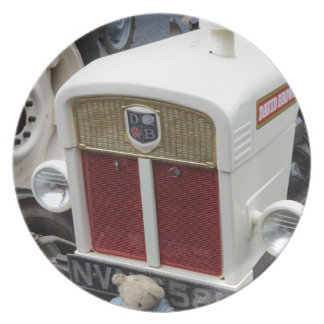 Classic British Tractor Plate