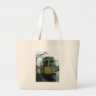 Classic British Tram. Tote Bags