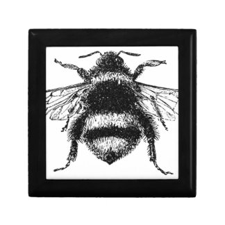 Classic Bumble Bee Small Square Gift Box