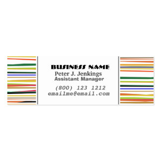 Classic Business Colourful Business Card Template