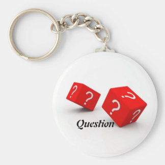 Classic Button Keychain