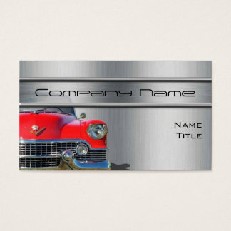 Classic Cadillac Car Business Cards