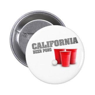 Classic California Beer Pong 6 Cm Round Badge