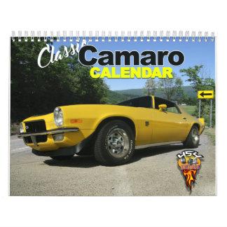 Classic Camaro Calendar