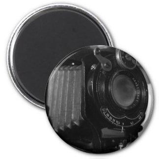 Classic Camera print 6 Cm Round Magnet