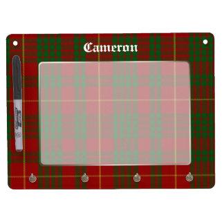Classic Cameron Tartan Plaid Dry Erase Board
