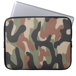 Classic camo laptop sleeve