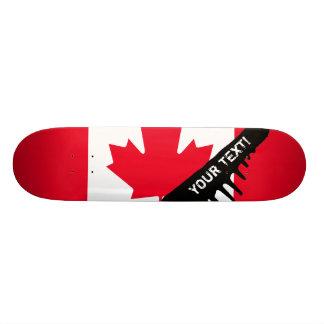 Classic Canada Flag 20 Cm Skateboard Deck