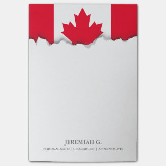 Classic Canada Flag Post-it Notes