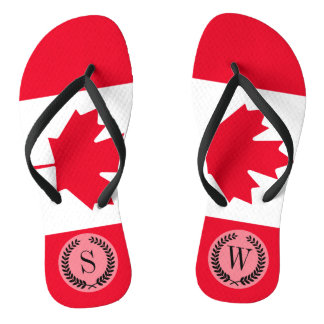 Classic Canada Flag Thongs